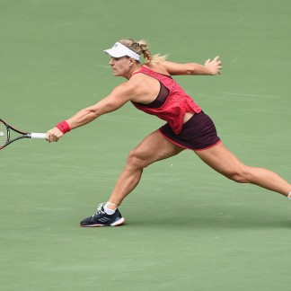 SF match against Anastasia Pavlyuchenkova // Getty Images
