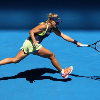 First round match against Anna-Lena Friedsam // Getty Images