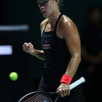 Singles match against Kiki Bertens // Getty Images