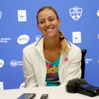 WTA All Access Hour during the Western & Southern Open at Lindner Family Tennis Center // Getty Images